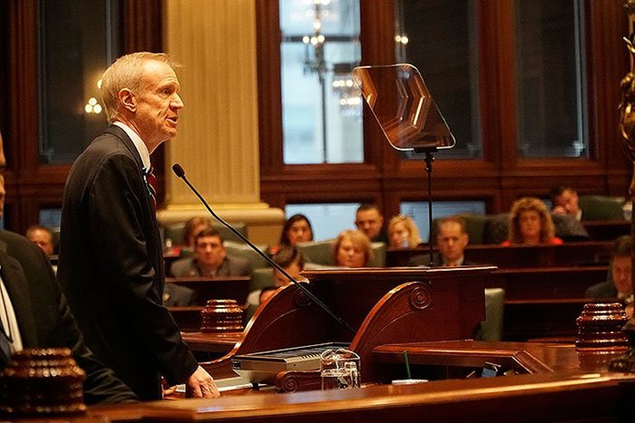 Rauner budget address