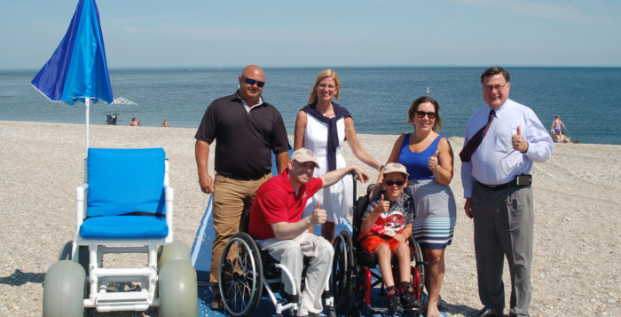 Brookhaven town makes beaches more accessible for all