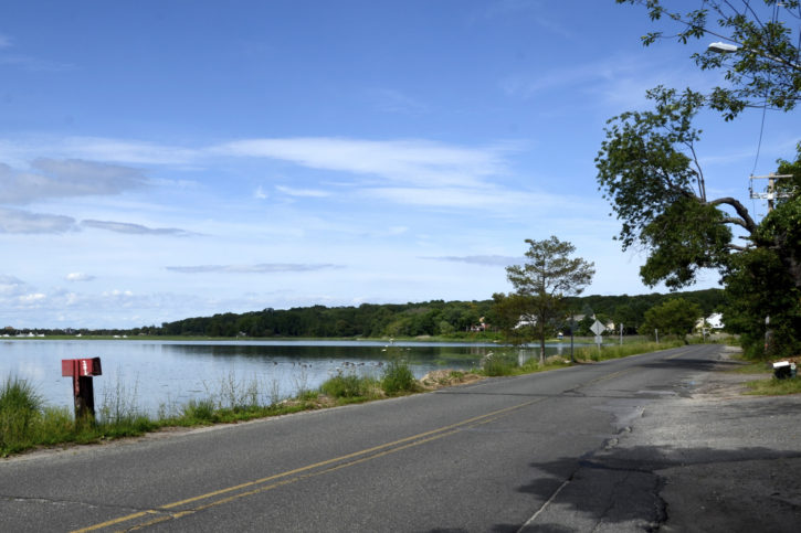 Project will reduce runoff into Mount Sinai Harbor