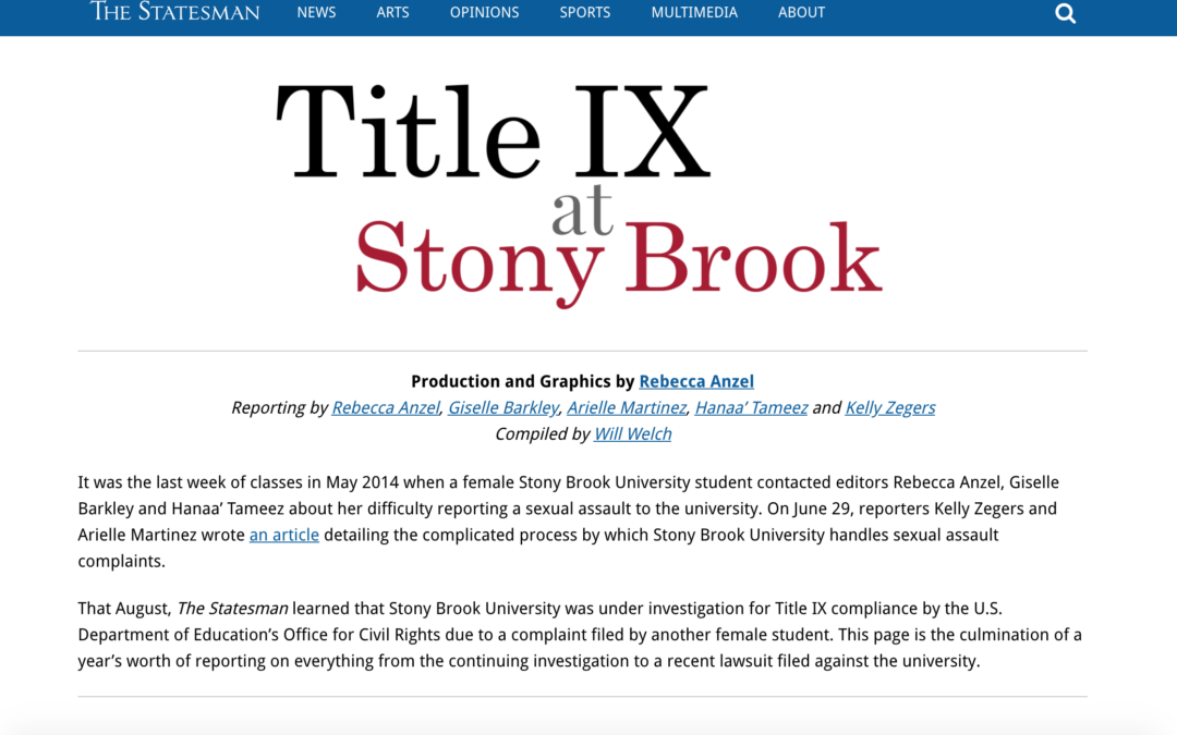 Title IX at Stony Brook University