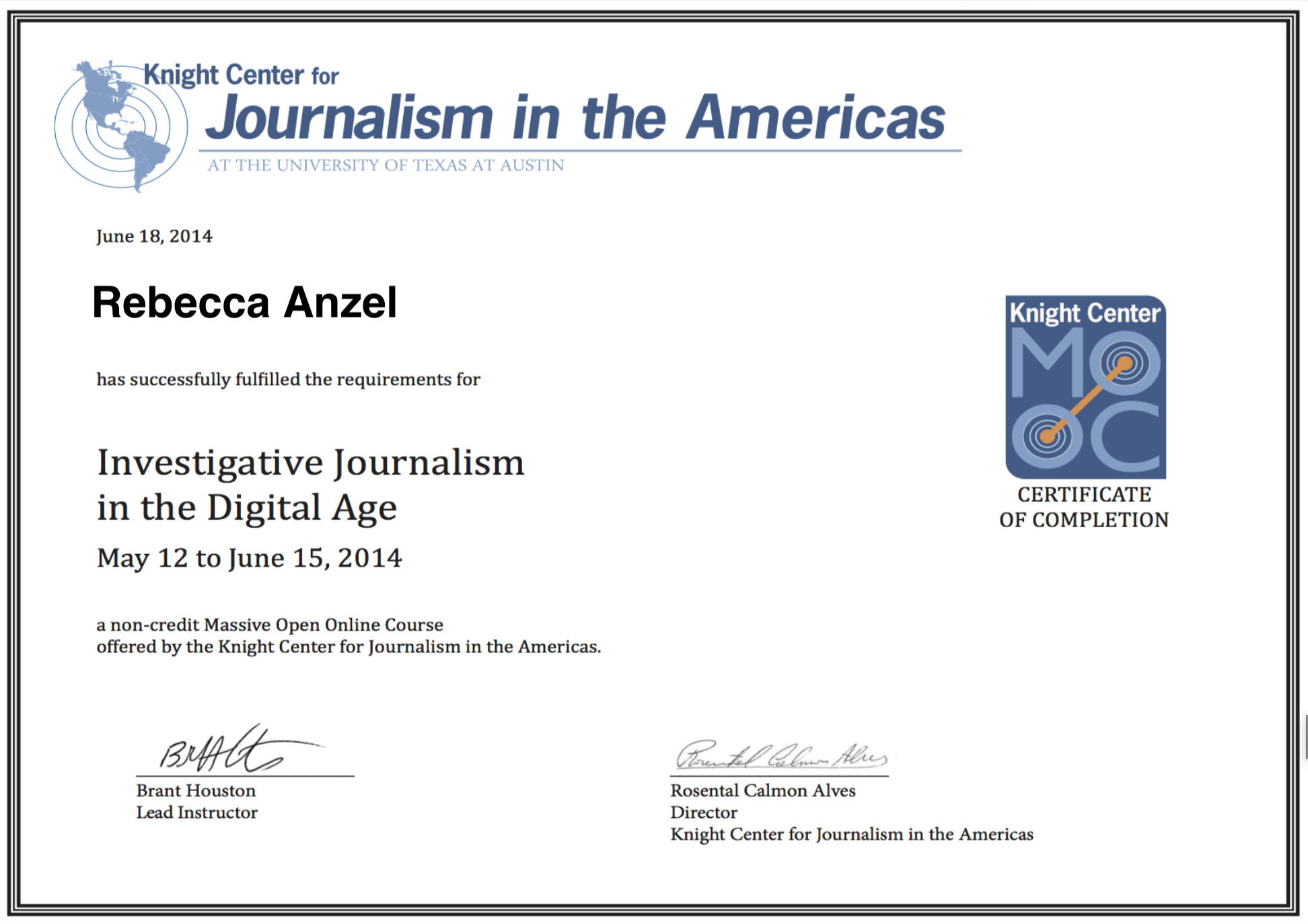 Investigative Journalism in the Digital Age