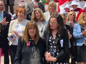 Reproductive Health Act rally
