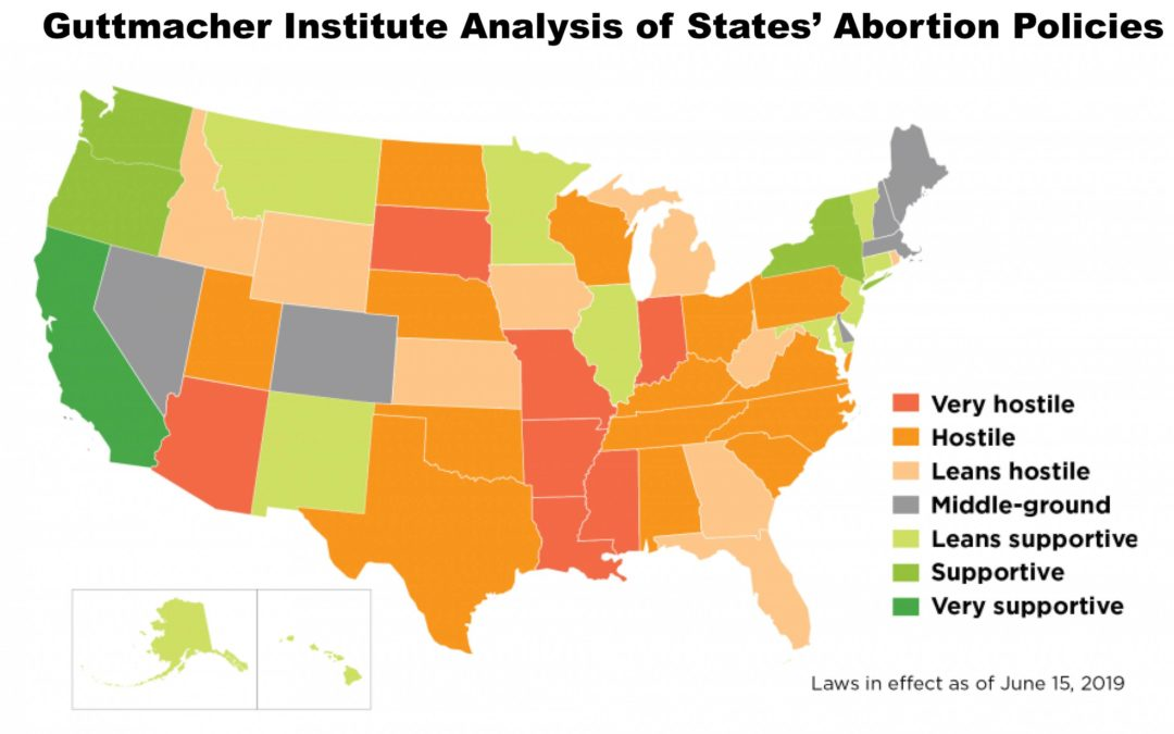 Analysis: Illinois 'leans supportive' on abortion policies