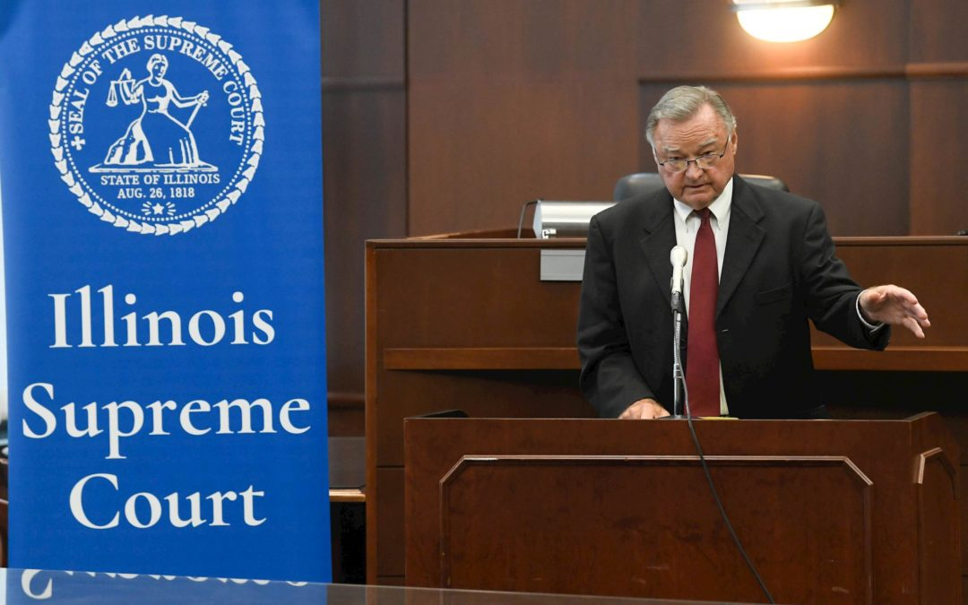 Q&A: Karmeier reflects on 'privilege' of leading state's highest court