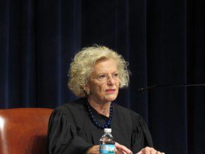 Supreme Court Chief Justice Anne Burke