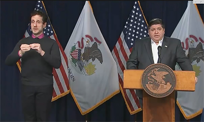 Pritzker asks residents to be 'All In' in helping state's coronavirus fight