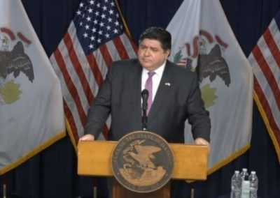 Pritzker addresses stay-at-home order changes, congregation's planned gathering