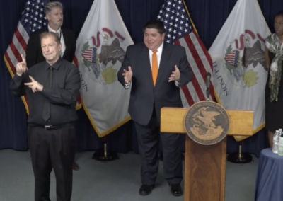 COVID-19 Breaking Brief: Governor: Illinois not yet meeting testing goals